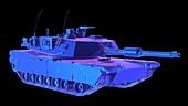 Tank, illustration