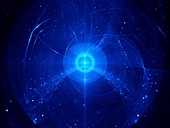 Nebula, fractal illustration