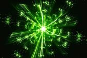 Quantum fractal illustration