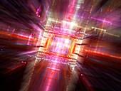 Technology, abstract illustration