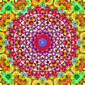 Kaleidoscope, abstract fractal illustration