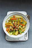 Vegan turnip stew