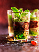 Morroccan mint tea