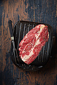 Basse Cote (beef steak) for grilling