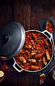 Smoky Sausage Stew