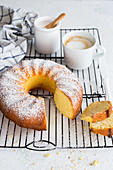 Ciambellone cake (olive oil cake, Italy)