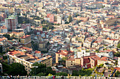 A view from Castel Sant'Elmo over Naples, Italy