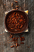 Crispy chilli crickets