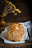 Challah - Jewish plaited bread on Sabbath