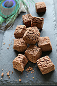 Gluten-free biscuit bites with cocoa and cardamom