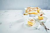 Tres Leche (mit Milchprodukten getränkter Kuchen, Südamerika)