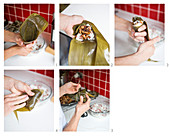 How to prepare Bah-Tzang (sticky rice with meat in a bamboo package, Taiwan)
