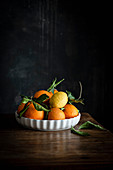 Plate with Oranges and Lemons