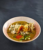 Curry Laksa (South-Asian soup)