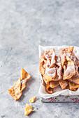Faworki (Polish carnival pastries)