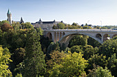 Adolphe Bridge over the Pétrusse, Luxembourg