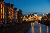 Speicherstadt (warehouse district), Hamburg, Germany