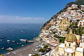 A view of Positano, Campania, Italy