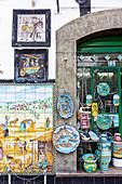 A ceramic shop in Vietri sul Mare, Amalfi Coast, Campania, Italy