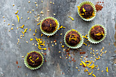 Protein balls with almond nutbutter and dates