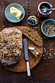 Wholemeal soda bread