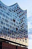 Die Elbphilharmonie in Hamburg, Deutschland