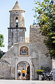 'Monastero Santa Rosa' a former nunnery now a hotel, Amalfi Coast, Campania, Italy