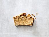 Buckwheat bread with turmeric and sunflower seeds