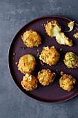 Potato and cheese bites