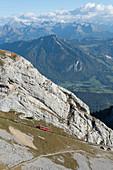 Pilatus funicular railway, Lucerne, Switzerland