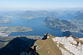 A view of Lake Lucerne, Switzerland