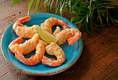 Beer-Battered Prawns