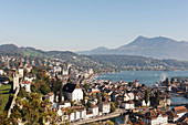 A view of Lucerne