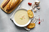 Aigo Bouido (Garlic creamy french soup)