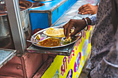 Indisches Street Food