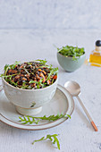 Lentil and pepitas salad