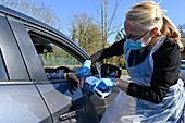 Drive-through warfarin testing during coronavirus outbreak