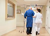 Hospital nursing ward