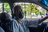 Taxi driver during Covid-19 outbreak