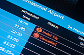 Cancelled flights during Covid-19 outbreak