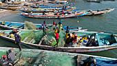 Fishing boats, Senegal