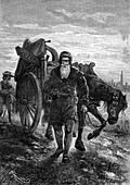 Gutenberg leaving Strasbourg