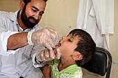 Childhood immunisation, Afghanistan