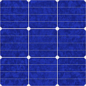 Solar panel, illustration