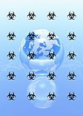 Pandemic, illustration