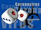 Coronavirus pandemic, illustration