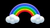 Rainbow, illustration