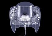 Computer game joy pad, X-ray