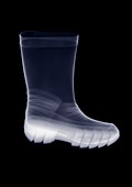 Rubber boot, X-ray