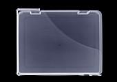 Plastic briefcase, X-ray